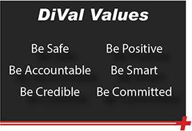 DiVal Values