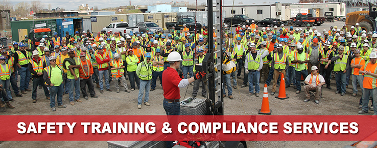 Safety Training and Compliance Banner