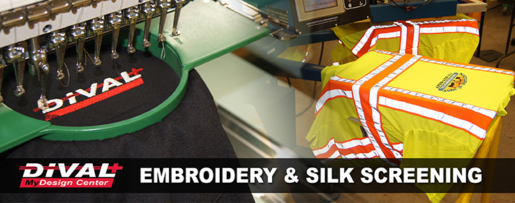Embroidery and Silk Screening Banner