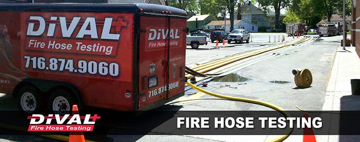 Fire Hose Testing Banner